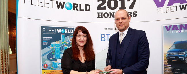 TMC WIN INNOVATION IN COST REDUCTION AWARD AT FLEET WORLD HONOURS