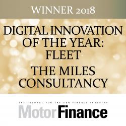 TMC Scoop Motor Finance Award for Digital Innovation of the Year