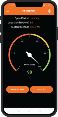 Driver behaviour app