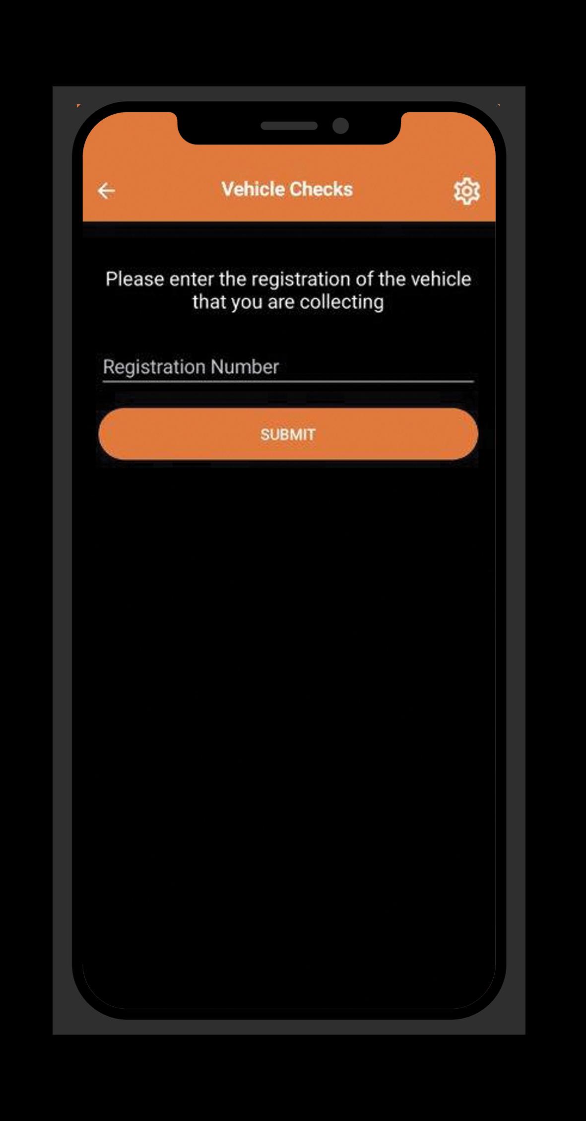 Checking new/returned vehicles