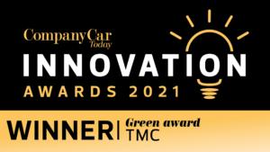 Innovation awards WINNERS logo TMC